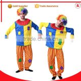 cosplay funny clown costume carnival party sexy adult clown costume for men                                                                         Quality Choice