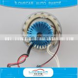 Led projector lens led angel eye with helical mask/motorbike 2 inch led projector lens for retrofit
