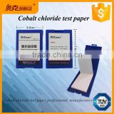 Cobalt chloride test paper / strips for chemical laboratory and school                                                                         Quality Choice