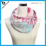 flower printing most popular infinity scarves oem