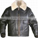 Fake leather jacket with hood and collar fur for Men winter overcoat , comfortable baby lamb leather fur jacket