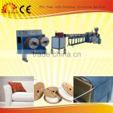 2015 News EVA foam pipe hose extrusion machinery