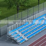 MC-TG01 demountable metal grandstand,portable metal tribune,portable metal bleacher for public sports events