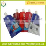 Quality professional plastic mattress bags,spout bag with printing,spout bag for shower gel