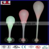LED Rechangeable Colorfull Floor Standing lamp landscape decor,outdoor landscape decoration,rechargeable decorative lamp