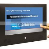 "10.2"" inch lcd ad player barcode scanner & touch screen function flexible lcd display"