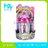 Hot B/O Tangled princess music and light spinning lantern magic hand lamp toys ZT 8759