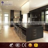 Black Modular MDF indian kitchen cabinet design                                                                         Quality Choice