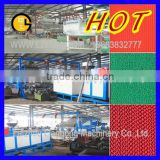 Laizhou PVC Mat Production Line/PVC carpet making machine/plastic carpet production line