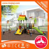 Factory Price outdoor toddler play backyard games outdoor amusement park equipment with swing