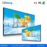 55inch 700nits Samsung 5.3mm Ultra Narrow Bezel LCD Video Wall for Information release