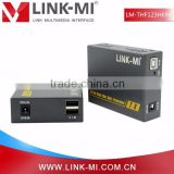 LINK-MI LM-THF123HKM Factory Price Optical Fiber Digital 2KM-10KM Video Transmitter and Receiver 3D hdmi 4K2K LC Fiber Optic