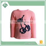 Hangzhou factory fasion hot design 100% cotton children clothing kid clothes children T-shirt