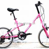 AiBIKE - Dolphin - 20 inch 27 speed mini velo