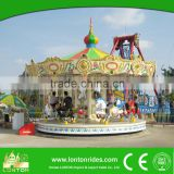 used playground equipment merry go round /roundabout/carousel horse amusement ride for kids