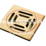 gold color brass floor drainer Z-304