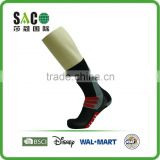 red three stripes red well crib pattern black nylon sport socks