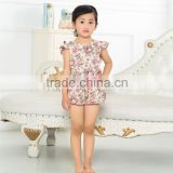2016 hot sale High Quality adorable baby clothing wholesale china funny girls images baby rompers