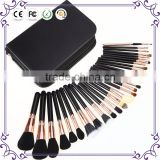 Shenzhen top brand soft animal hair beauty needs makeup brush set wholesale