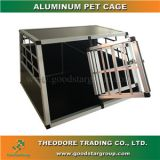 Good Star Group Aluminum Pet Crate Double Door Cage Kennel Travel Carrier