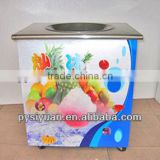 hot-selling CE commercial electric automatic home use stainless steel singel pan fried ice cream machine made in China