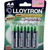 12 Solar Light Lights AA 800mAh Rechargeable Battery Batteries Long Lasting 3 Pa