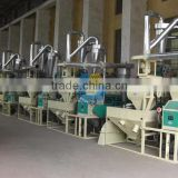 Rice and corn milling machines for maize meal production process sale