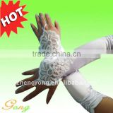 2011 Newest Style Satin Wedding Gloves
