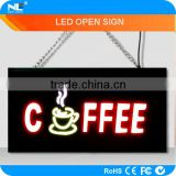 Energy saving high brightness welcome resin led sign board / led resin sign / led open sign for bars/cafes/restaurants