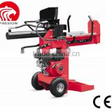 CE gasoline Petrol log splitter 15T 3-in-1, vertical Horizontal log splitter, new design used gas log splitter