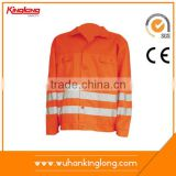 Wholesale cheap safety reflective t-shirt man working jacket
