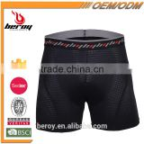 BEROY Anti-bacterial padded cycling underpants,men super breathable bicycle underwear