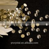 Beautiful 8 big 8 small flat back rhinestone embellishments ss20 non-hotfix crystal