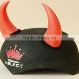 felt Spanish Bull Fighting Hat with red horns
