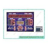 Digital Electronic Basketball Scoreboard With Led Moving Message Display