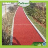 thin colored asphalt overlay / road construction material / micro road paving material