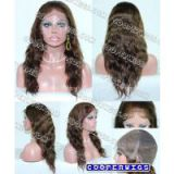 COOPER WIGS Human Silk Base Full Lace Wig Glueless With Baby Hair Pre Plucked Natural Hairline Non Remy Brazilian Hair