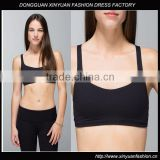 Open Back Lightweight Mesh Yoga Sports Bra