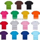 2017 China Manufacturing High Quality Mens 100% Cotton Plain T-shirts