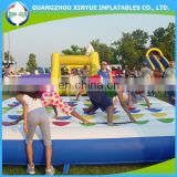 Hot Selling Inflatable Twister Game, Inflatable Mattress for Kids and Adults