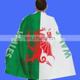Sports WELSH Pride Dragon Flag Fancy Dress Body Cape