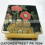 satin trinket box