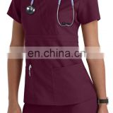 Medical Scrubs Wholesale Scrubs Uniforms Medical Uniform Women and Man Medical Scrubs Top and Pants