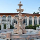 Big outdoor marble water fountains