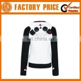 High Quality Cotton Comfortable Panda Hoody Custom Logo Design Women Hoody Warmer
