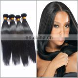 Wholesale brazilian silky straight remy human hair weft top quality hair weave beauty plus hair