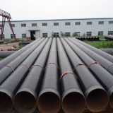 3PE Anticorrosion carbon steel spiral pipe
