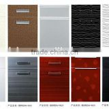 High gloss mirror effect acrylic door panel cabinetry door