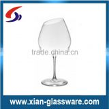 Promotional wholesale vintage bevel antique wine glass/old fashioned wine glass/glass wine cup for home/wedding