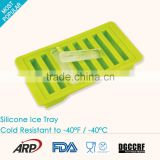 100% food grade hot ice tray silicone ice pop ball molds,ice cube tray